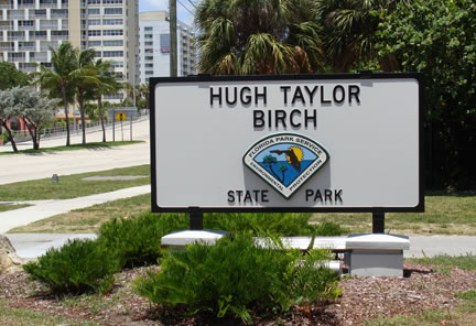 Hugh Birch Taylor Park Sign